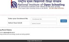 NIOS Deled Result 2020 - 2021 Supplementary Exam Result Date