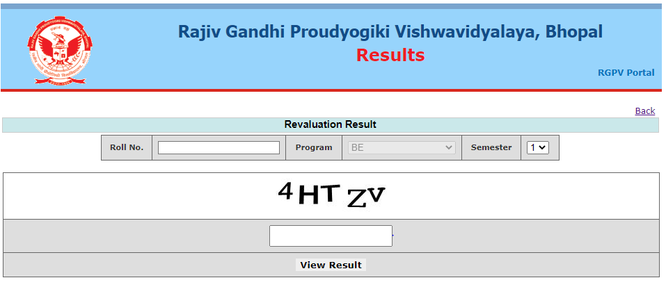 RGPV Diploma Revaluation Result 2020 - 2021 June July Date